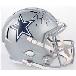 Tony Romo Signed Cowboys Full-Size Speed Helmet (Beckett COA)