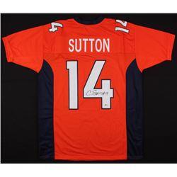 Courtland Sutton Signed Jersey (Beckett COA)