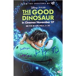 """""""The Good Dinosaur"""" 12x18 Photo Cast-Signed by (7) with Jack Bright, Raymond Ochoa, Anna Paquin, Pet"""