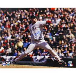 Curt Schilling Signed Red Sox 16x20 Photo (PSA COA)