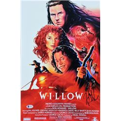 "Kevin Pollak Signed ""Willow"" 12x18 Photo (Beckett COA)"