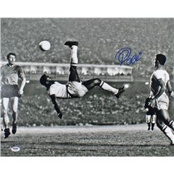 Pele Signed Team Brazil 16x20 Photo (PSA LOA)