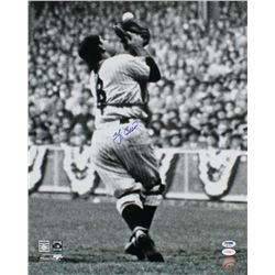 Yogi Berra Signed Yankees 16x20 Photo (JSA COA  PSA COA)