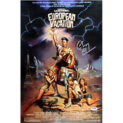 "Chevy Chase Signed ""National Lampoon's European Vacation"" 12x18 Photo (PSA COA)"
