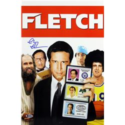 "Chevy Chase Signed ""Fletch"" 12x18 Photo (Beckett COA)"