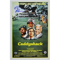"Chevy Chase Signed ""Caddyshack"" 12x18 Photo (Beckett COA  Chase Hologram)"