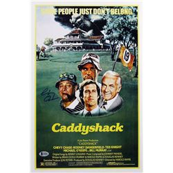 "Chevy Chase Signed ""Caddyshack"" 12x18 Photo (Beckett COA)"
