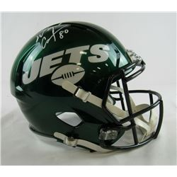 Wayne Chrebet Signed New Jets Full-Size Speed Helmet (JSA COA)