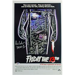 "Ari Lehman Signed ""Friday the 13th"" 12x18 Photo Inscribed ""Jason 1"" (PSA COA)"