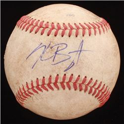 Kris Bryant Signed South Atlantic Baseball (PSA Hologram)