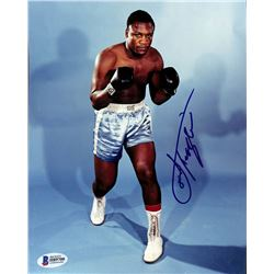 Joe Frazier Signed 8x10 Photo (Beckett COA)