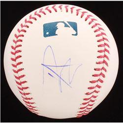 John Cena Signed OML Baseball (PSA COA)