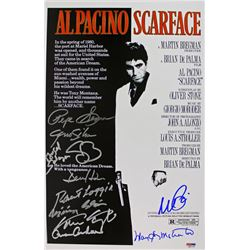 Scarface  11x17 Photo Cast-Signed by (11) with Al Pacino, Pepe Serna, Geno Silva, Steven Bauer, Den