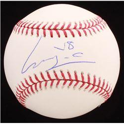 Luis Castillo Signed OML Baseball (PSA COA)