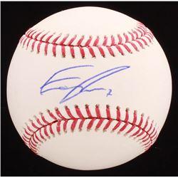Eric Thames Signed OML Baseball (PSA COA)