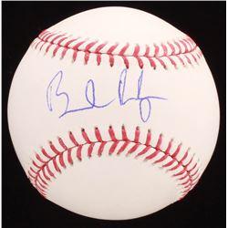Brendan Rodgers Signed OML Baseball (PSA COA)