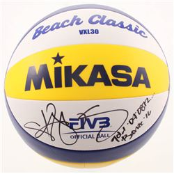 "Kerri Walsh Jennings Signed Volleyball Inscribed ""Gold '04 '08 '12...""  ""Bronze '16"" (PSA COA)"