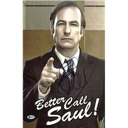 Bob Odenkirk Signed  Better Call Saul  11x17 Photo (Beckett Hologram)