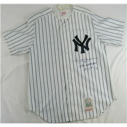 "Reggie Jackson Signed Yankees Jersey Inscribed ""Mr. October""  ""H.O.F. '93"" (JSA COA)"