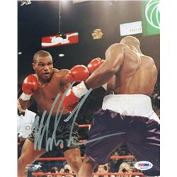 Mike Tyson Signed 8x10 Photo (PSA COA)