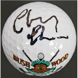 "Chevy Chase Signed ""Caddyshack"" Bushwood Country Club Golf Ball (PSA COA)"