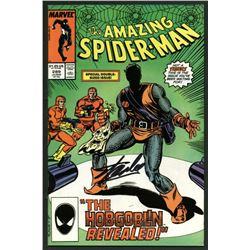 "Stan Lee Signed 1987 ""The Amazing Spider-Man"" The Hobgoblin Revealed! #289 Marvel Comic Book (PSA Ho"