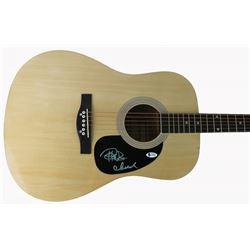 """Cheech Marin  Tommy Chong Signed 41"""" Acoustic Guitar (Beckett COA)"""