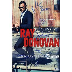 """Ray Donovan"" 12x18 Photo Cast-Signed by (8) with Jon Voight, Devon Bagby, Paula Malcomson, Steven B"