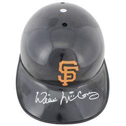 Willie McCovey Signed Giants Full Size Batting Helmet (Beckett COA)