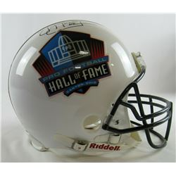 """Jim Kelly Signed Pro Football Hall of Fame Full-Size Authentic On-Field Helmet Inscribed """"HOF 02"""" (J"""
