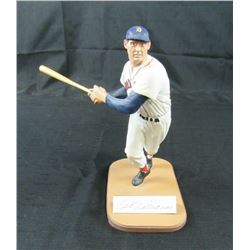 Ted Williams Signed LE Red Sox Gartlan Figurine (Gartlan Authentic)