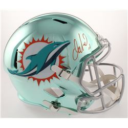 Dan Marino Signed Dolphins Full-Size Chrome Speed Helmet (JSA COA)