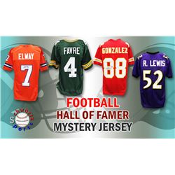 Schwartz Sports Football Hall of Famer Signed Mystery Box Football Jersey - Series 6 (Limited to 100