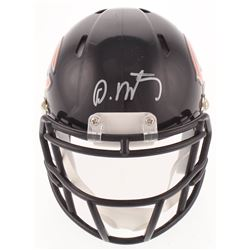 David Montgomery Signed Bears Speed Mini Helmet (JSA COA)