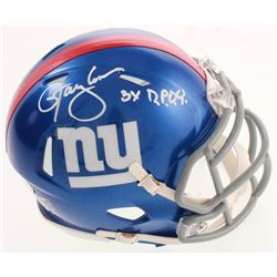 "Lawrence Taylor Signed Giants Speed Mini Helmet Inscribed ""3x D.P.O.Y"" (JSA COA)"
