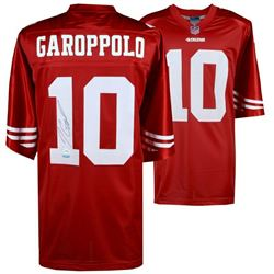 Jimmy Garoppolo Signed 49ers Jersey (Fanatics Hologram)