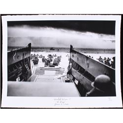 "Historical Photo Archive - World War II ""D-Day"" Limited Edition 17x22 Fine Art Giclee on Paper #/375"