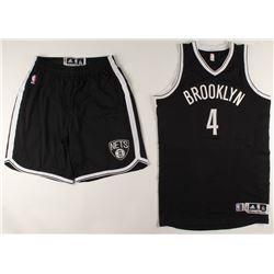 Luis Scola Game-Used Nets Jersey  Shorts (Steiner Hologram)