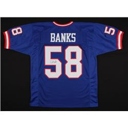 Carl Banks Signed Jersey (JSA COA)