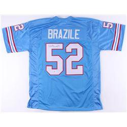 Robert Brazile Signed Jersey (Beckett COA)