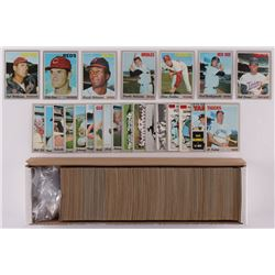 1970 Topps Complete Set of (720) Baseball Cards with #580 Pete Rose, #211 Ted Williams, #10 Carl Yas