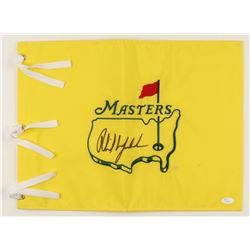 Phil Mickelson Signed Masters Pin Flag (JSA LOA)