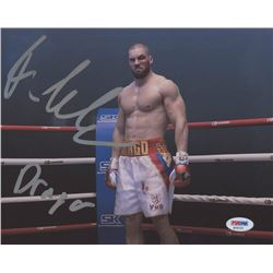"Florian Munteanu Signed ""Creed 2"" 8x10 Photo Inscribed ""Drago"" (PSA COA)"