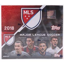 2018 Topps Stadium Club MLS Soccer 24ct Retail Box