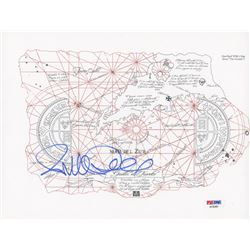 "Richard Donner Signed ""The Goonies"" 8x11.5 Treasure Map Photo (PSA COA)"