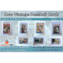 Cardboard Hits Presents Vintage Card Mystery Box Series 9
