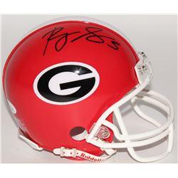Roquan Smith Signed Georgia Bulldogs Mini-Helmet (JSA COA)