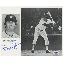 Bobby Murcer Signed Yankees 8x10 Photo (PSA COA)