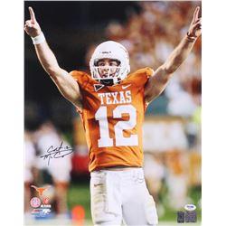 Colt McCoy Signed Texas Longhorns 16x20 Photo (PSA COA  McCoy Hologram)