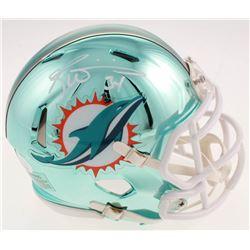 Ricky Williams Signed Miami Dolphins Chrome Speed Mini Helmet (JSA COA)